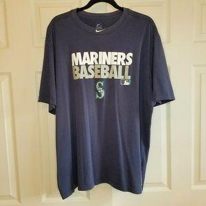 Nike Seattle Mariners Baseball 3XL Dri-Fit T Shirt